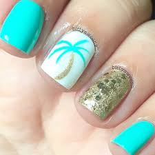 beachy nails i feel pretty oh so pretty pinterest hawaii
