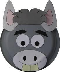 paper plate donkey craft http www dltk kids com animals mplate