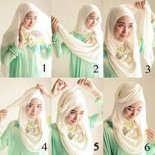 tutorial hijab resmi tutorial hijab simple tutorial hijab segi empat dian pelangi simple