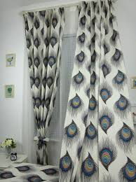 Silver Window Curtains Peacock Shower Curtain Silver Look Beautiful And Attractive