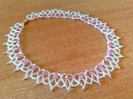 free necklace pattern images Free pattern for necklace stefani pinterest free pattern bead jpg