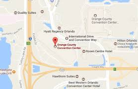 orange county convention center map us site