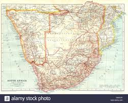 Map Of Southern Africa by Southern Africa South Africa Namibia Botswana Mozambique Rhodesia