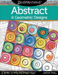 zenspirations r coloring book abstract u0026 geometric designs fox