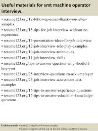 Machine Operator Job Description For Resume by Top 8 Smt Machine Operator Resume Samples