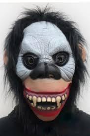 Gorilla Halloween Costume Gray Horrible Gorilla Latex Halloween Mask Pink Queen
