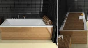 vasche da bagno legno 3 idee creative per decorare ed utilizzare la vasca da bagno