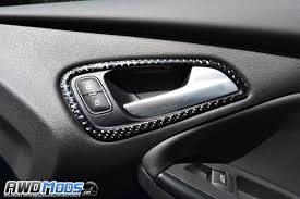 ford focus door handle parts ford focus rs st carbon fiber accent kit by tufskinz 10 kit