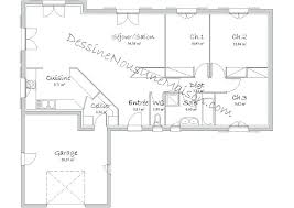 plan de maison 120m2 4 chambres plan maison plain pied 4 chambres garage psicologiaclinica info