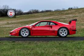 80s ferrari gorgeous ferrari f40 poses for the camera