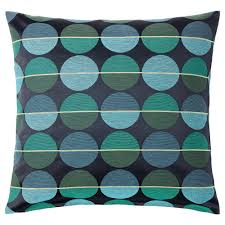 Navy Velvet Cushion Sanela Cushion Cover Dark Blue 50x50 Cm Ikea