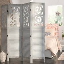 Quatrefoil Room Divider Open Shelf Room Divider Wayfair