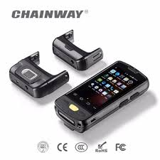 rugged handheld pc chainway c4000 android rugged handheld fingerprint scanner tablet