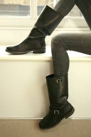 heeled biker boots 118 best black biker boots images on pinterest style biker