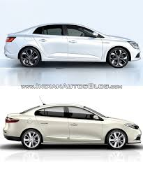 old renault renault megane sedan vs renault fluence old vs new