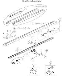 Overhead Door Corporation Parts Belt 4022 4024 4042 Garage Door Operator Parts
