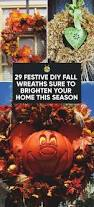 Decorating Your Home For Fall Making Fall Wreaths Large Size Of Prissy Easy Fall Wreaths Fall