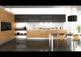 cuisine en bois design cuisine et bois moderne et élégante en noir bois et meubles