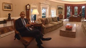 Inside The Oval Office President Obama Gives 360 Degree White House Tour During Final
