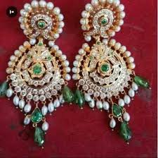rajputi earrings artificial rajputi jewellery khache artificial rajputi jewellery