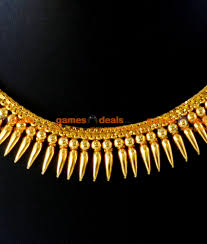 plated choker necklace images Nckn46 gold plated traditional mullaipoo malai choker necklace jpg