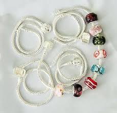 charm snake bracelet images 5pcs x silver plated snake charm 925 bracelets stopper crafts jpeg