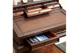 Cherry Secretary Desk by Canthus Cherry Secretary Desk With Fold Out Writing Tray