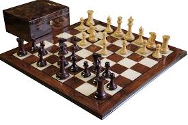 buy rosewood collector walnut chess set at luxury chess sets for