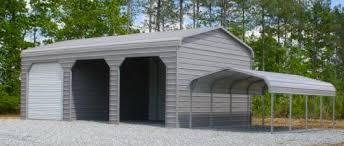 Garage With Carport Carports U2014 Liberty Storage Solutions