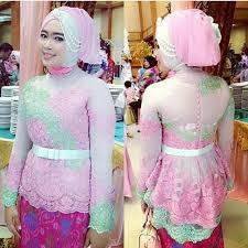 model baju kebaya muslim 26 model baju kebaya muslim modern terbaik