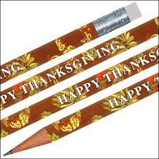 tub thanksgiving pencils 144 per set ca office products