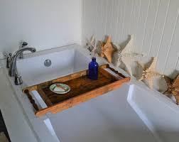 Wood Bathtub Caddy Wood Bath Caddy Etsy