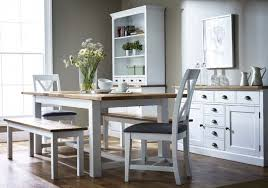 Bench Dining Tables Sumptuous Design Ideas White Dining Table With Bench All Dining Room