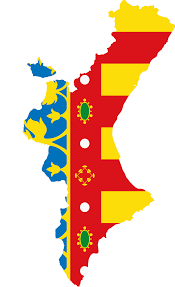 Valencia Spain Map by File Flag Map Of Valencia Svg Wikimedia Commons
