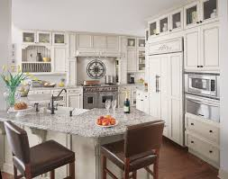 Glenview Custom Cabinets Fieldstone Cabinets For A Transitional Kitchen With A Beveled