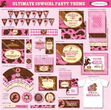 cowgirl birthday party themes birthday