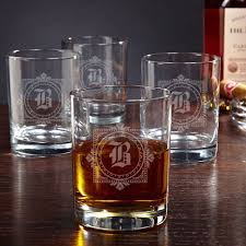 winchester personalized whiskey glasses set of 4