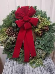 fresh wreaths delivered to your door with forest