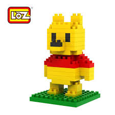 loz diamond blocks loz diamond blocks character series winnie the pooh