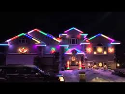 multi color led landscape lighting animated multi colored exterior led house lights youtube