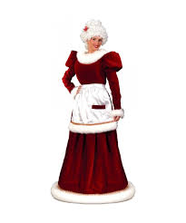 santa costumes mrs santa suit velvet christmas costume plus size santa