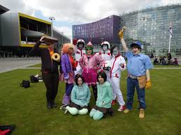 Wreck It Ralph Costume Wreck It Ralph Cosplay Group Shot 2 By Shadow Industries On Deviantart