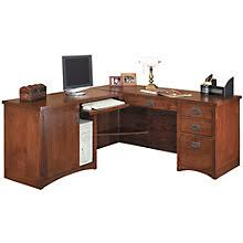 Oak Office Desks Mission Style Home Office Desks Amish Made Oak Craftsman