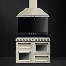 Smeg 110 Gloss Black Induction Cooker Tr4110ip Smeg Smeg Uk