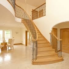Oak Banisters And Handrails Oak Handrails For Stairs Haldane Uk Timber Handrails Bespoke
