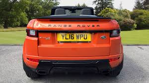 orange range rover used land rover range rover evoque convertible 2 0 si4 hse dynamic