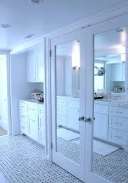 Make Closet Doors Mirror Closet Door Simple White Frame Mirrored Closet Doors To