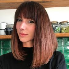 lob hairstyles with bangs these 39 medium bob hairstyles are trending for 2018