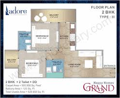 flats in sector 85 faridabad adore affordable 2 3 bhk flats floor