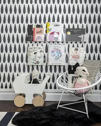 chambre fille noir et blanc chambre enfant en noir blanc